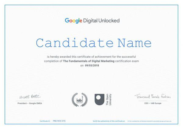 Google free Digital marketing Certification course in Bangalore