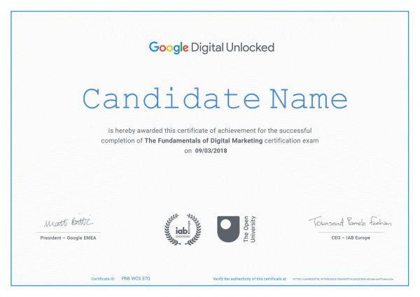 Google free Digital marketing Certification course in Bangalore